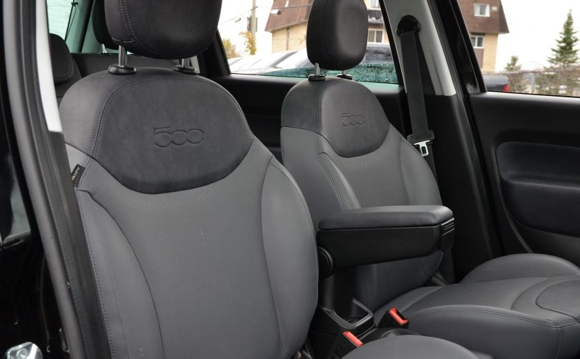 2015 Fiat 500L LOUNGE A/C AUTO BIZONE CRUISE SONAR ABS BLUETOOTH #40