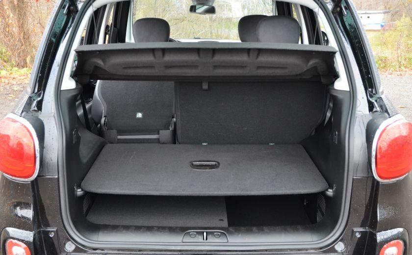 2015 Fiat 500L LOUNGE A/C AUTO BIZONE CRUISE SONAR ABS BLUETOOTH #46