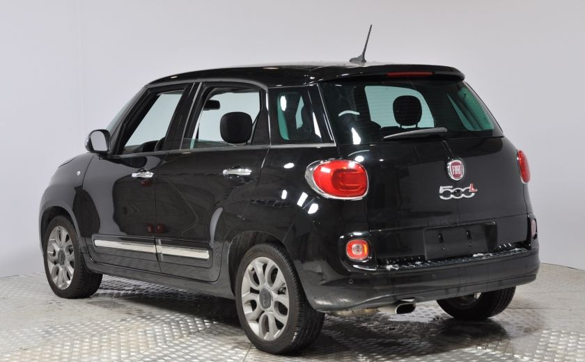 2015 Fiat 500L LOUNGE A/C AUTO BIZONE CRUISE SONAR ABS BLUETOOTH #4