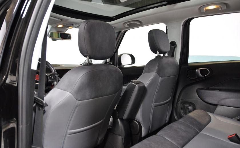2015 Fiat 500L LOUNGE A/C AUTO BIZONE CRUISE SONAR ABS BLUETOOTH #25