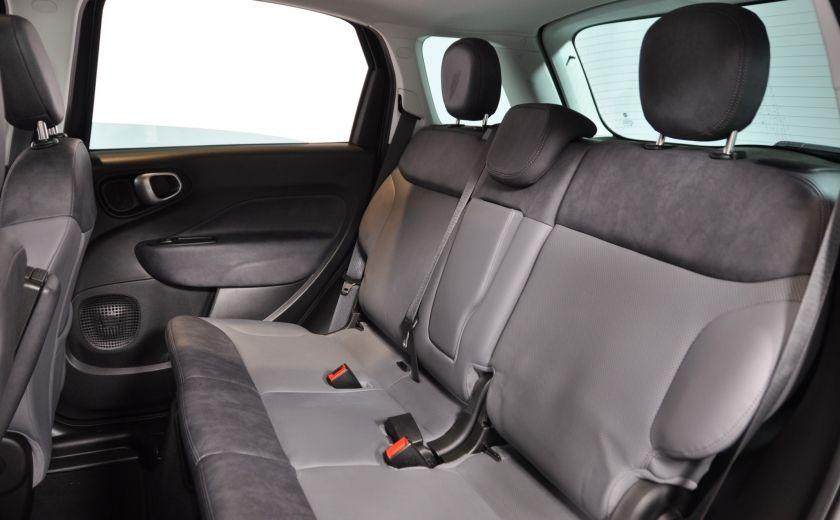 2015 Fiat 500L LOUNGE A/C AUTO BIZONE CRUISE SONAR ABS BLUETOOTH #26