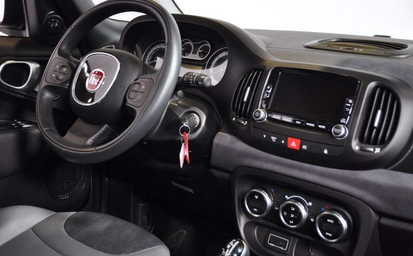 2015 Fiat 500L LOUNGE A/C AUTO BIZONE CRUISE SONAR ABS BLUETOOTH #30