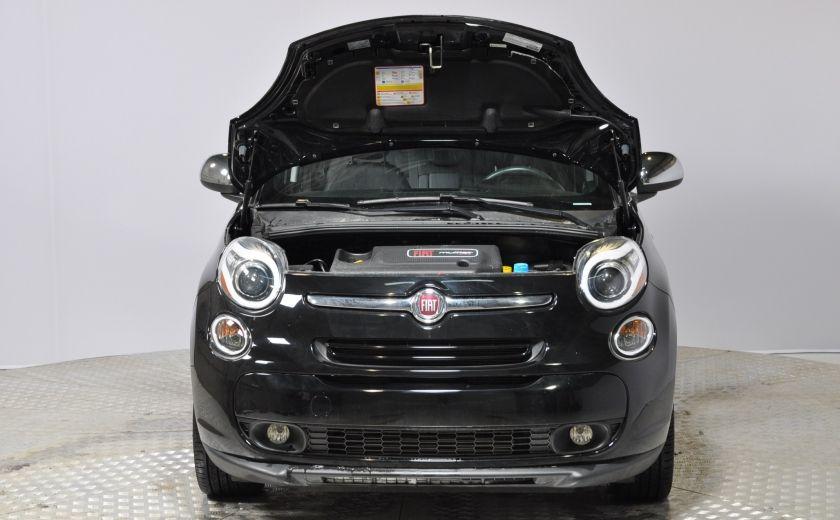 2015 Fiat 500L LOUNGE A/C AUTO BIZONE CRUISE SONAR ABS BLUETOOTH #33