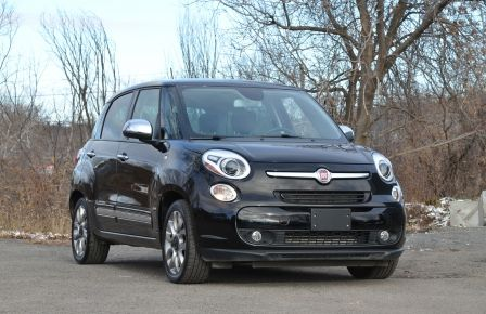 2015 Fiat 500L LOUNGE CUIR TOIT PANO NAV CRUISE BLUETOOTH in Longueuil