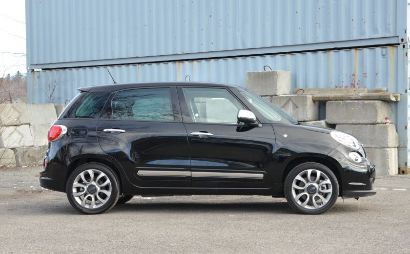 2015 Fiat 500L LOUNGE CUIR TOIT PANO NAV CRUISE BLUETOOTH #6