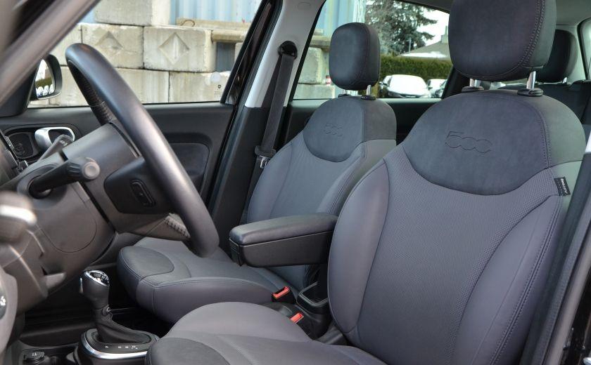2015 Fiat 500L LOUNGE CUIR TOIT PANO NAV CRUISE BLUETOOTH #8