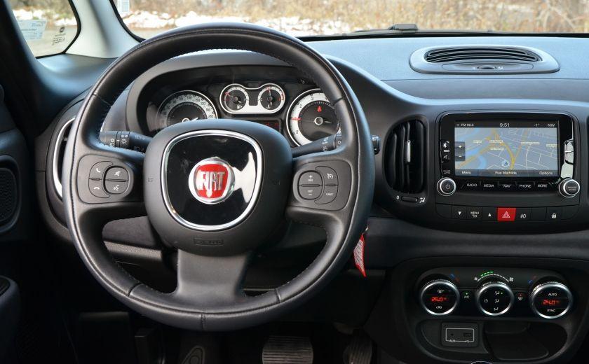 2015 Fiat 500L LOUNGE CUIR TOIT PANO NAV CRUISE BLUETOOTH #12