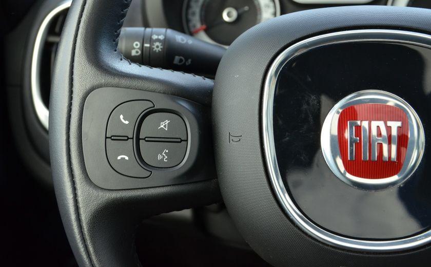 2015 Fiat 500L LOUNGE CUIR TOIT PANO NAV CRUISE BLUETOOTH #26