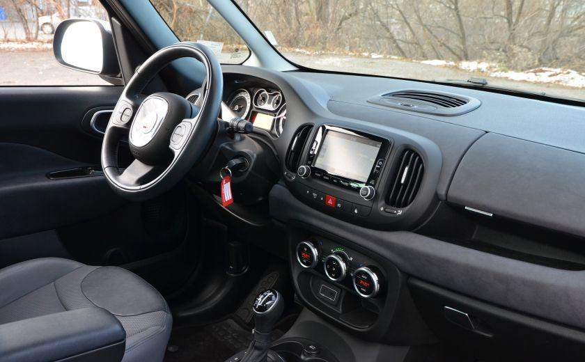 2015 Fiat 500L LOUNGE CUIR TOIT PANO NAV CRUISE BLUETOOTH #35