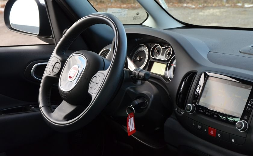 2015 Fiat 500L LOUNGE CUIR TOIT PANO NAV CRUISE BLUETOOTH #36