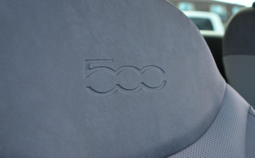 2015 Fiat 500L LOUNGE CUIR TOIT PANO NAV CRUISE BLUETOOTH #39