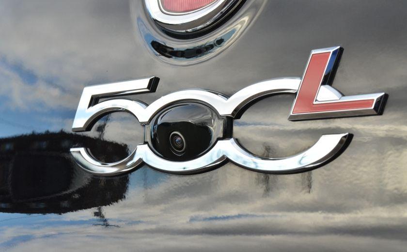 2015 Fiat 500L LOUNGE CUIR TOIT PANO NAV CRUISE BLUETOOTH #47