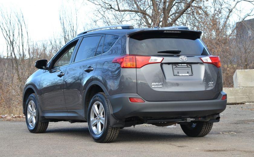 2015 Toyota Rav 4 XLE A/C NAV SIEGES CHAUFFANT TI SAT BLUETOOTH CRUI #4