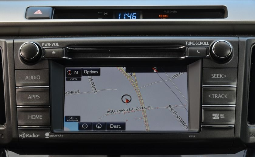 2015 Toyota Rav 4 XLE A/C NAV SIEGES CHAUFFANT TI SAT BLUETOOTH CRUI #15