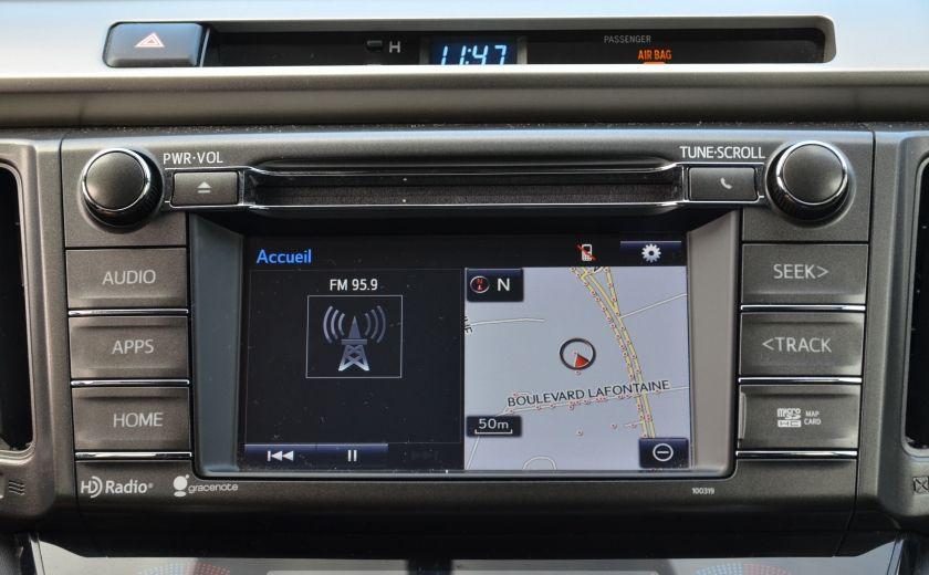 2015 Toyota Rav 4 XLE A/C NAV SIEGES CHAUFFANT TI SAT BLUETOOTH CRUI #17