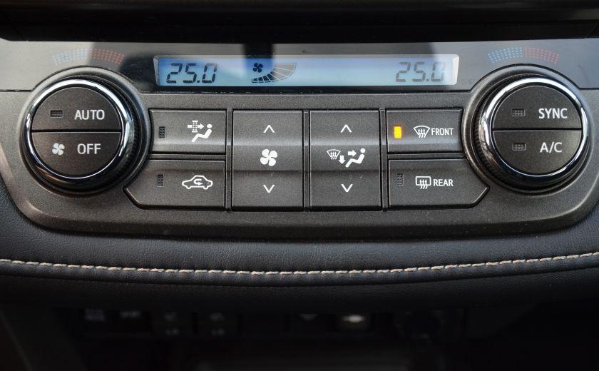 2015 Toyota Rav 4 XLE A/C NAV SIEGES CHAUFFANT TI SAT BLUETOOTH CRUI #19