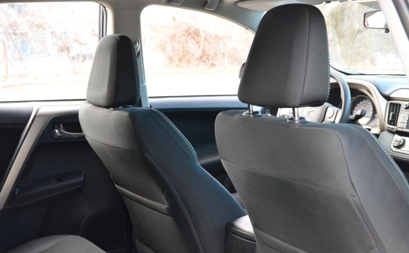 2015 Toyota Rav 4 XLE A/C NAV SIEGES CHAUFFANT TI SAT BLUETOOTH CRUI #29