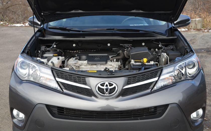 2015 Toyota Rav 4 XLE A/C NAV SIEGES CHAUFFANT TI SAT BLUETOOTH CRUI #35