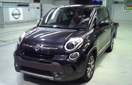 2015 Fiat 500L TREKKING CUIR/TISSUS TOIT PANORAMIQUE NAVIGATION in Longueuil