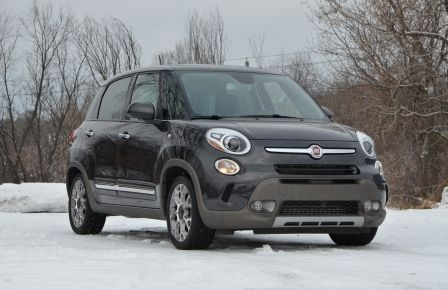 2015 Fiat 500L TREKKING CUIR/TISSUS TOIT PANORAMIQUE NAVIGATION in Gatineau
