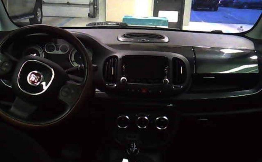 2015 Fiat 500L TREKKING CUIR/TISSUS TOIT PANORAMIQUE NAVIGATION #2