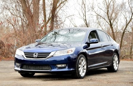 2013 Honda Accord TOURING NAVIGATION CUIR  SIEGES CHAUFFANT PANO in Abitibi