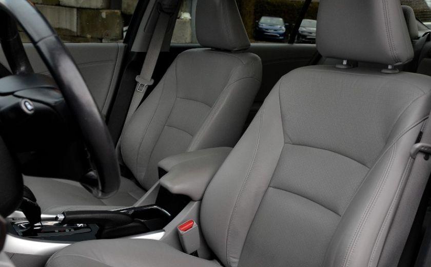 2013 Honda Accord TOURING NAVIGATION CUIR  SIEGES CHAUFFANT PANO #10