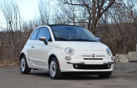 2015 Fiat 500c LOUNGE CONVERTIBLE CUIR A/C AUTO BLUETOOTH AUDIO P à