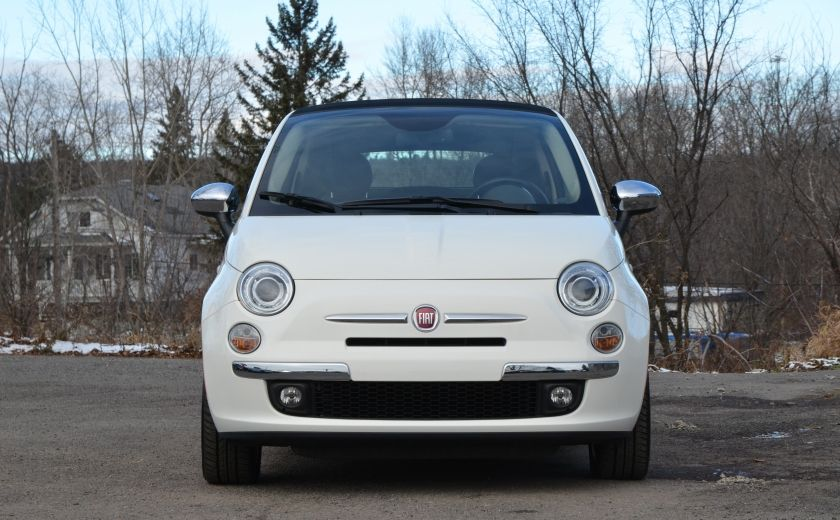 2015 Fiat 500c LOUNGE CONVERTIBLE CUIR A/C AUTO BLUETOOTH AUDIO P #1
