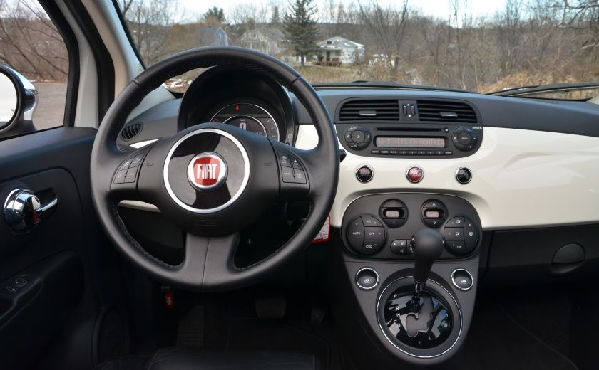 2015 Fiat 500c LOUNGE CONVERTIBLE CUIR A/C AUTO BLUETOOTH AUDIO P #14