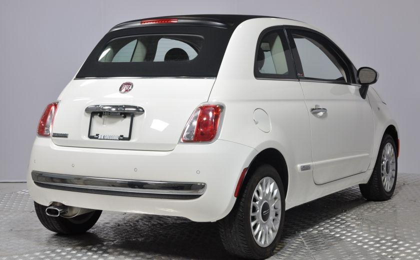 2015 Fiat 500c LOUNGE CONVERTIBLE CUIR A/C AUTO BLUETOOTH AUDIO P #6