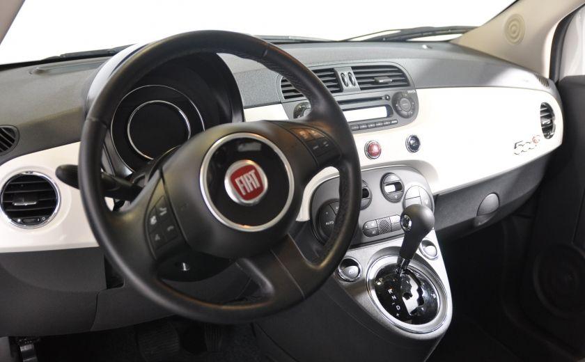 2015 Fiat 500c LOUNGE CONVERTIBLE CUIR A/C AUTO BLUETOOTH AUDIO P #8