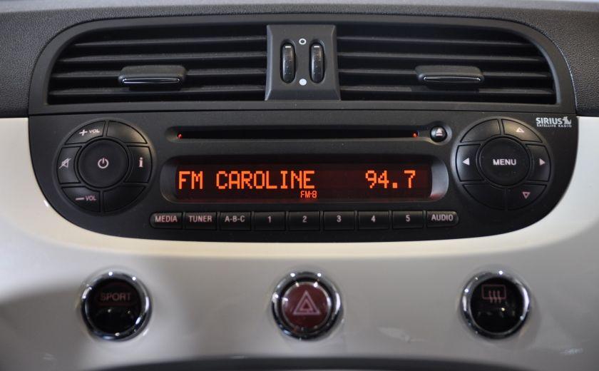 2015 Fiat 500c LOUNGE CONVERTIBLE CUIR A/C AUTO BLUETOOTH AUDIO P #16