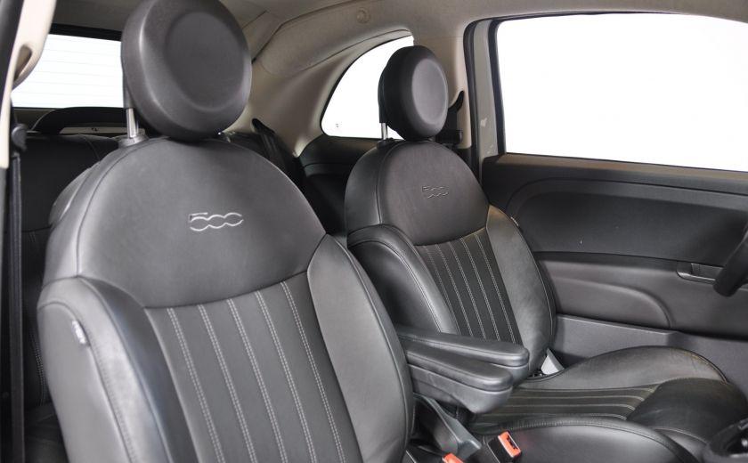 2015 Fiat 500c LOUNGE CONVERTIBLE CUIR A/C AUTO BLUETOOTH AUDIO P #23