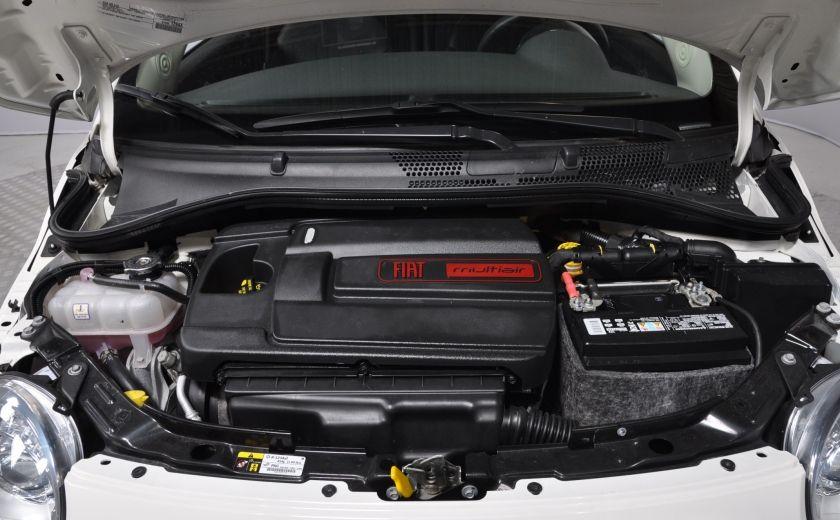 2015 Fiat 500c LOUNGE CONVERTIBLE CUIR A/C AUTO BLUETOOTH AUDIO P #24