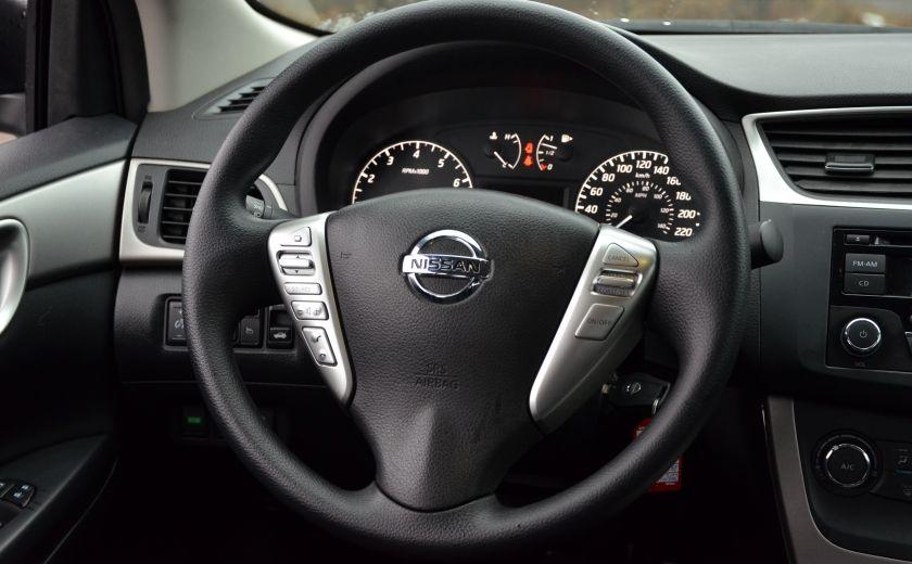 2015 Nissan Sentra 1.8 S CVT A/C CRUISE BLUETOOTH #13
