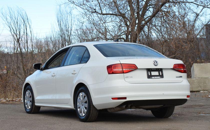 2015 Volkswagen Jetta TRENDLINE 2.0 CRUISE ABS BLUETOOTH A/C #4