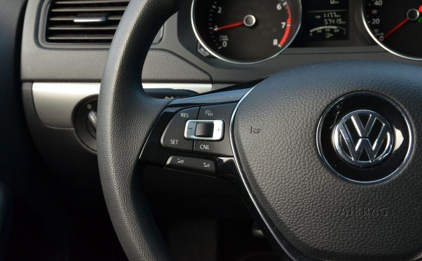 2015 Volkswagen Jetta TRENDLINE 2.0 CRUISE ABS BLUETOOTH A/C #22