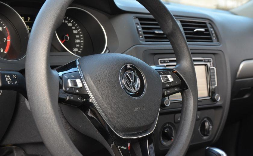 2015 Volkswagen Jetta TRENDLINE 2.0 CRUISE ABS BLUETOOTH A/C #25