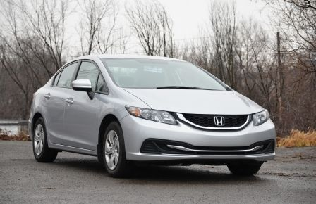 2014 Honda Civic LX A/C  CRUISE BLUETOOTH SIEGES AV CHAUFFANT in Abitibi