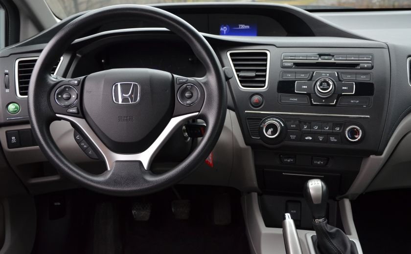 2014 Honda Civic LX A/C  CRUISE BLUETOOTH SIEGES AV CHAUFFANT #13