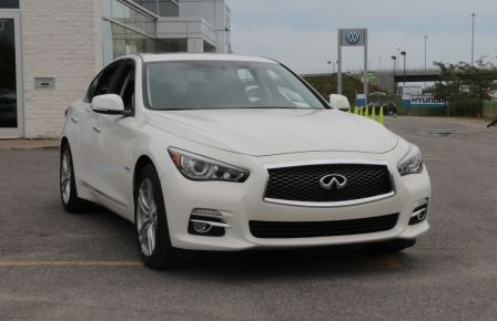 2014 Infiniti Q50 Hybrid AWD CUIR TOIT NAV CAMERA BLUETOOTH in New Richmond