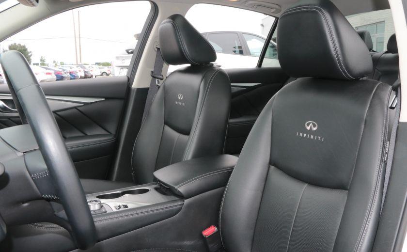 2014 Infiniti Q50 Hybrid AWD CUIR TOIT NAV CAMERA BLUETOOTH #9