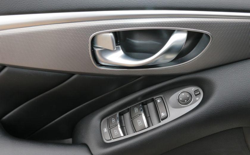2014 Infiniti Q50 Hybrid AWD CUIR TOIT NAV CAMERA BLUETOOTH #10