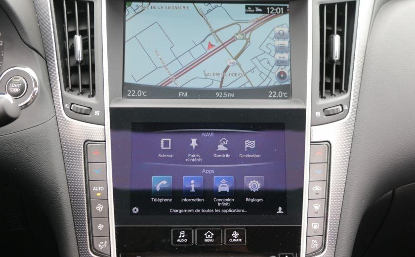 2014 Infiniti Q50 Hybrid AWD CUIR TOIT NAV CAMERA BLUETOOTH #16
