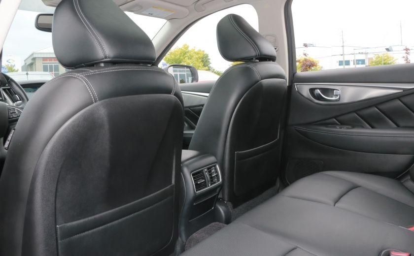2014 Infiniti Q50 Hybrid AWD CUIR TOIT NAV CAMERA BLUETOOTH #24