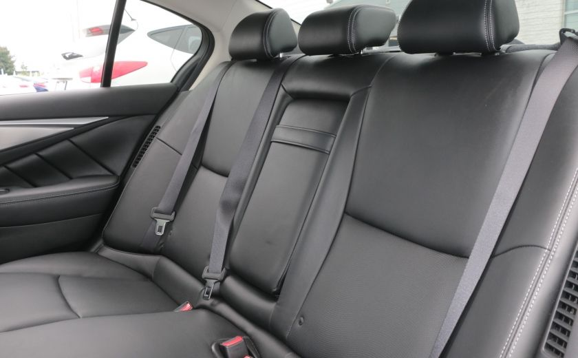 2014 Infiniti Q50 Hybrid AWD CUIR TOIT NAV CAMERA BLUETOOTH #25