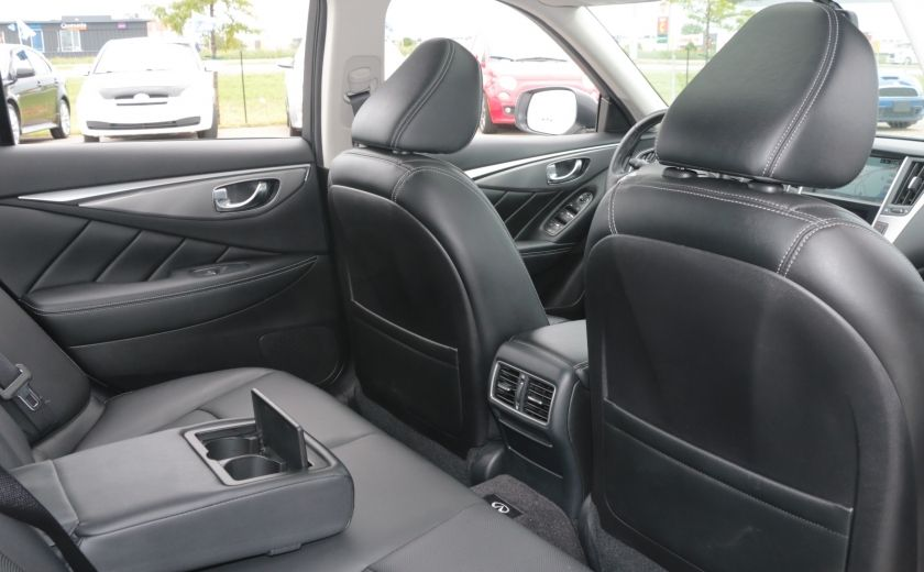 2014 Infiniti Q50 Hybrid AWD CUIR TOIT NAV CAMERA BLUETOOTH #26