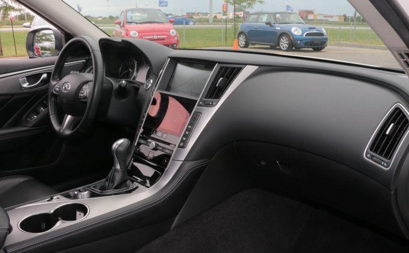 2014 Infiniti Q50 Hybrid AWD CUIR TOIT NAV CAMERA BLUETOOTH #28