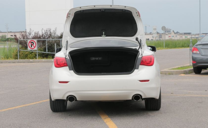 2014 Infiniti Q50 Hybrid AWD CUIR TOIT NAV CAMERA BLUETOOTH #33